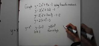 how to complete the square to graph a quadratic function math wonderhowto