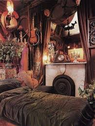 how to make a gypsy bedroom brown king size frame bed red floral
