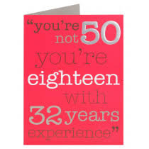 50th milestone 30 100 birthday cards cards clintons