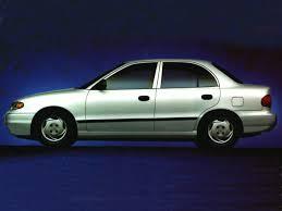 hyundai accent 1996 review 1996 hyundai accent overview cars com