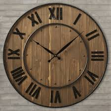 large decorative wall clocks which is very beautiful with a sofa