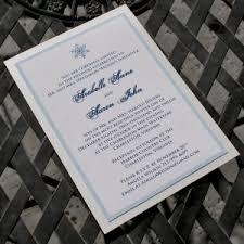 Snowflake Wedding Invitations Snowflake Wedding Invitation U2013 Citrine Designs