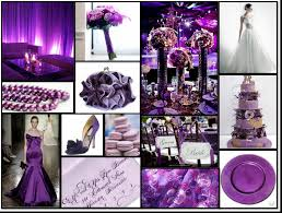 awesome purple and gold wedding table decor with wedding