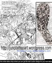mythology tattoos custom tattoos made to order by juno