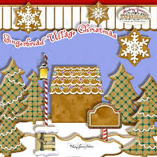 free christmas cookie recipe card digital clip art by audrey