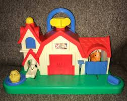 Fisher Price Barn Bounce House Activity Center Etsy