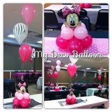 minnie or mickey mouse diy balloon column balloon pump balloon