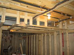 A Frame Home Interiors Inspirations Magnificent Castor Framing A Basement With Simple