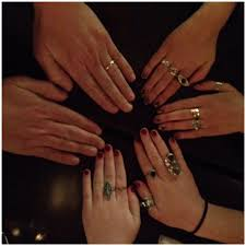 girls rings hands images My girls 39 hand jewelry qualifies them as effective bodyguards jpg