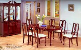 glass dining room sets glass top solid wood contemporary cherry