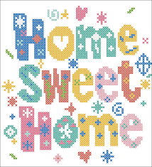 Instant Home Design Download by Bogo Free Pdf Fun Home Sweet Home Cross Stitch Pdf Pattern