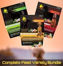 pure meat mixed bundle prodog raw dog food for barf diets