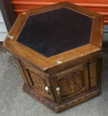 country octagon black end tables with storage ideas popular home