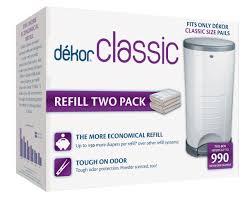 amazon com dekor classic hands free diaper pail white baby