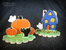 3d halloween cookie craft for kids melissa joy cookies