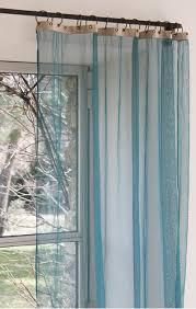 voilage pour chambre voilage bleu canard pour chambre vert olive et beige idée deco