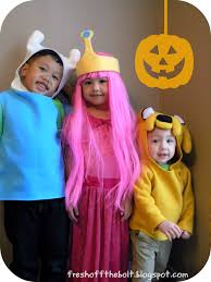 fresh off the bolt our 2013 halloween costumes adventure time