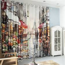 Wohnzimmer Jalousien Blackout Vorhänge Stoff 3d Vorhänge Für Wohnzimmer Fertige