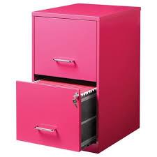 Pink Filing Cabinet Hirsh 2 Drawer File Cabinet In Pink