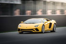 yellow and black lamborghini 2018 lamborghini aventador s first drive review