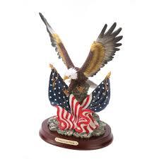 Bald Eagle On Flag Wholesale Bald Eagle Sculpture Flags Patriotic Bald Eagle Usa