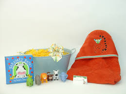 thoughtful presence brings certified organic baby products new organic jungle bath baby gift basket