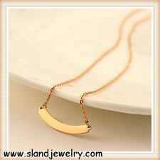 Gold Personalized Name Necklaces Personalized Rose Gold Name Necklace Set 0 4mm Wire Dia Initial