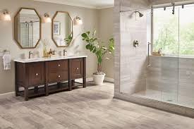 Vinyl Plank Flooring In Bathroom Bathroom Flooring Guide Armstrong Flooring Residential