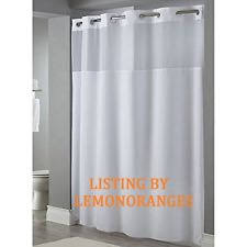 Colorful Fabric Shower Curtains Hookless Shower Curtain Ebay