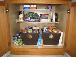 kitchen cabinet organizer ideas