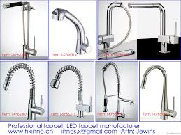Led Kitchen Faucets Led Kitchen Faucet By Inno Sanitaryware Co Ltd China