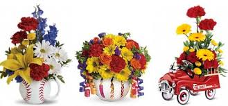 flowers for men say happy birthday with flowers from teleflora 75 gift card