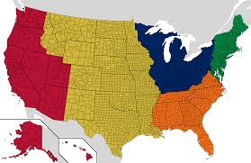 Empty United States Map by If Every Us State Had The Same Population What Would The Map Of
