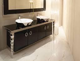 visionnaire portorose luxury italian vanity in stainless steel