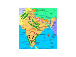 India On Map by Ancient India Geography History Showme