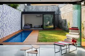 exciting small swimming pool house design inspiration performing