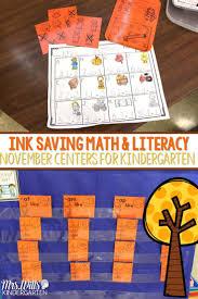preschool thanksgiving math activities 300 best november in kindergarten images on pinterest classroom