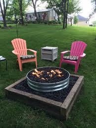 Building A Propane Fire Pit Galvanized Fire Pit Ring 48 Fire Pits Pinterest Fire Pit