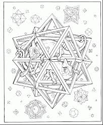 Amazing Geometric Shapes Coloring Page With Free Printable Coloring Pages Shapes