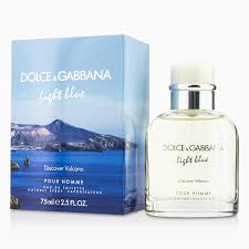 dolce and gabbana light blue 2 5 oz dolce gabbana light blue discover vulcano edt spray 75ml men s