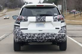 Nissan Rogue Fog Lights - 2017 nissan rogue spied with cosmetic updates autoevolution
