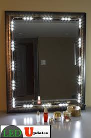 led vanity light strip contemporary makeup lighting strips vanity mirror magnets light