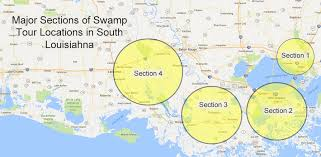 louisiana map areas louisiana sw tours air boat rides eco tours kayak tours