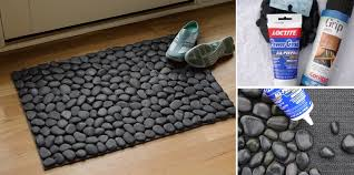 Goods Home Design Diy Diy River Stone Doormat Home Design Garden U0026 Architecture Blog