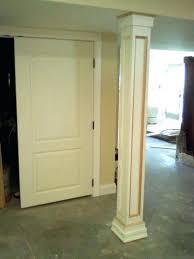 basement post cover ideas home design inspirations
