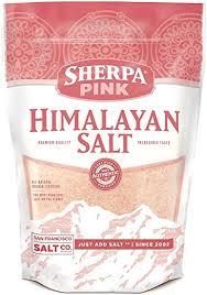 himalayan salt l amazon amazon com sherpa pink gourmet himalayan salt 5 lbs fine grain