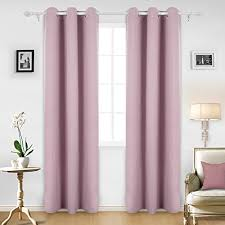 Lilac Nursery Curtains Nursery Blackout Curtains