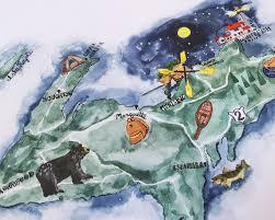 Map Upper Peninsula Michigan by An Ode To My Homeland U2013 Michigan U0027s Upper Peninsula U2014 Two If By Sea