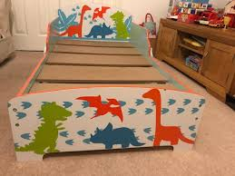 Dinosaur Bed Frame Toddler Dinosaur Bed With Mattress In Shiremoor Tyne And