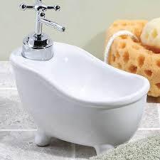 bubbles bathtub shaped novelty soap dispenser what s it worth